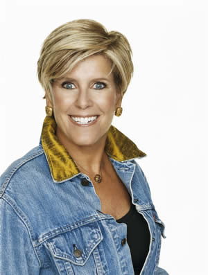 One of my favorite people to watch on television is Suze Orman.